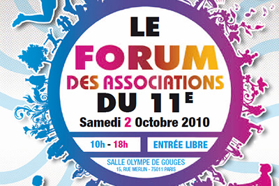bon plan gratuit paris forum association 11eme