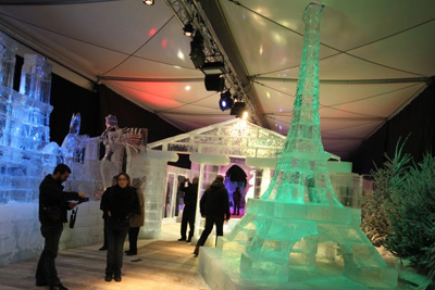 bon plan expo sculptures de glace ice magic champs elysees
