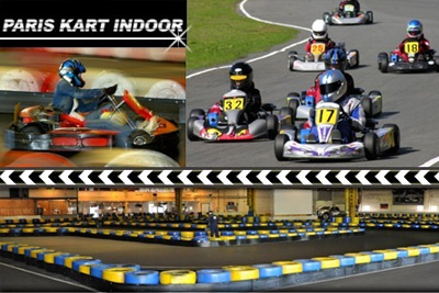 karting 39 90 au lieu de 101 chez paris kart indoor. Black Bedroom Furniture Sets. Home Design Ideas