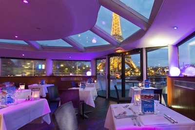 restaurant paris romantique