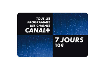 carte prepaye canal plus