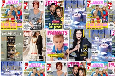 Les magazines public parents paris match elle etc - Abonnement tele 7 jours pas cher ...
