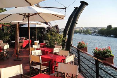 brunch sur la seine gallion