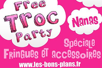 free troc party gratuite entre nanas sp ciale fringues et accessoires. Black Bedroom Furniture Sets. Home Design Ideas