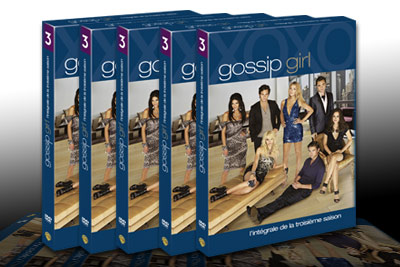 dvd gratuits gossip girl s3 et des coffrets gossip girl. Black Bedroom Furniture Sets. Home Design Ideas