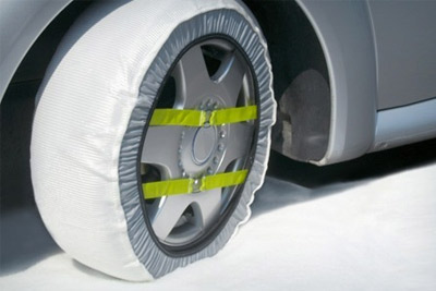 paire de housses de pneus neige anti d rapantes 29 99. Black Bedroom Furniture Sets. Home Design Ideas