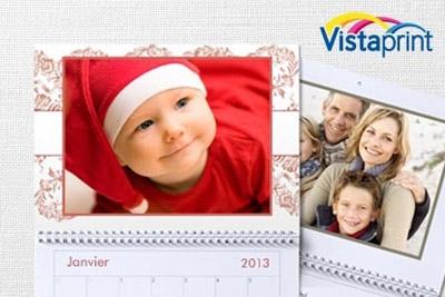 Calendrier Vista Print.2 Calendriers Muraux Multiphotos Sur Vistaprint Fr A 5 Au