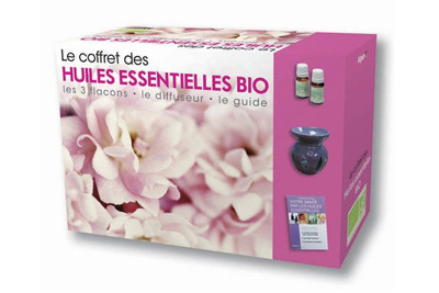 coffret huiles essentielles bio avec diffuseur. Black Bedroom Furniture Sets. Home Design Ideas