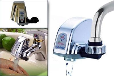 Robinet automatique infrarouge auto spout 24 90 au - Robinet automatique a detecteur infrarouge ...