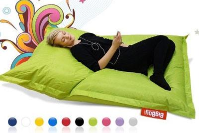 pouf bigboy xxl 140 x 180 cm l original de la marque infurn pour 59 au lieu de 119. Black Bedroom Furniture Sets. Home Design Ideas