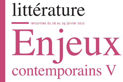litterature enjeux contempo
