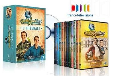 Coffret de 12 dvd de l 39 mission quelle aventure racont e - C est pas sorcier le port de rotterdam ...