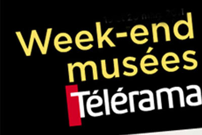 week end musees telerama