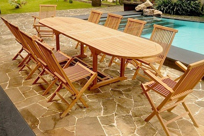Grande table de jardin discount