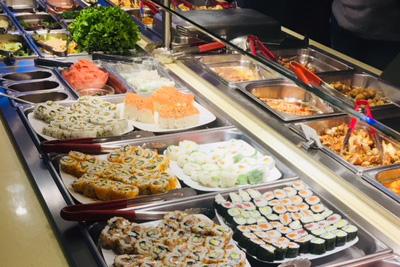 Buffet à Volonté Japonais | Buffet Criativas