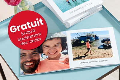 Livre photo personnalis gratuit sur photobox hors frais - Code promo photobox frais de port gratuit ...