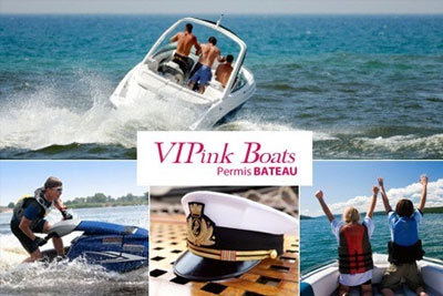 permis bateau 269 99 au lieu de 570 avec vipink boats. Black Bedroom Furniture Sets. Home Design Ideas