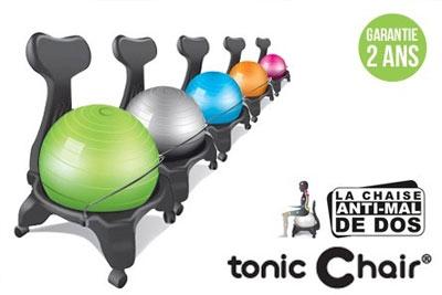 Chaise Anti Mal De Dos Tonic Chair A 7990 EUR Au Lieu 15990