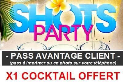 bon plan soiree pas chere shots party