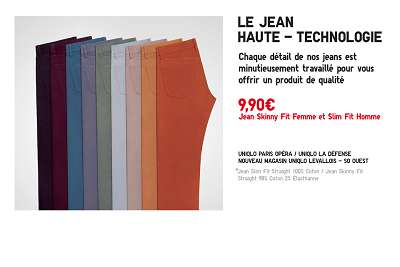 bon plan shopping uniqlo jeans