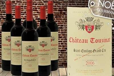 3 bouteilles saint emilion grand cru ch teau touzinat 2006 29 90 au lieu de 59 70. Black Bedroom Furniture Sets. Home Design Ideas