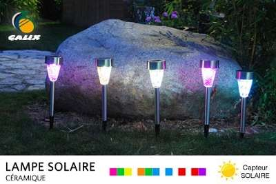 lampes solaire led pour jardin ou balcon 24 90 au lieu de 55. Black Bedroom Furniture Sets. Home Design Ideas