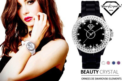 montre beauty crystal