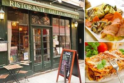 restaurant italien paris gallo romano