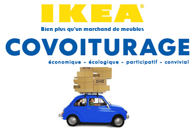 covoiturage pour aller chez ikea. Black Bedroom Furniture Sets. Home Design Ideas