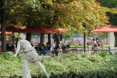 Bar avec terrasse en pleine nature au c ur de paris - Jardin des tuileries restaurant ...