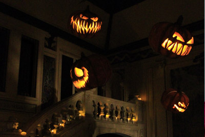 manoir de paris halloween