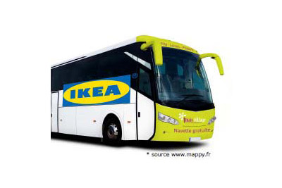 bus ikea gratuit de paris ikea thiais. Black Bedroom Furniture Sets. Home Design Ideas