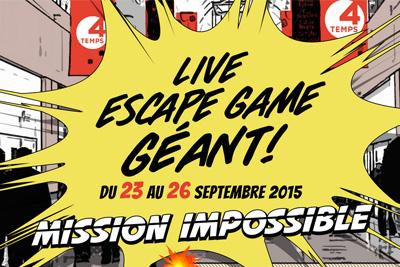 escape game g ant gratuit aux 4 temps de la d fense. Black Bedroom Furniture Sets. Home Design Ideas