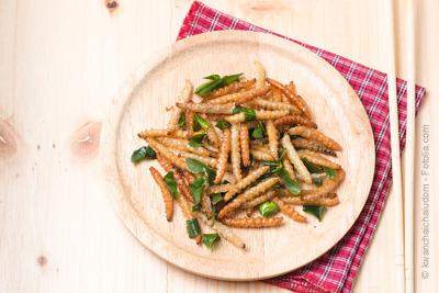 Restaurant insolite paris o l on mange des insectes - Insectes dans la cuisine ...