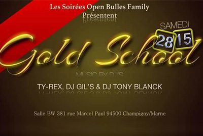 soiree gold school gratuite