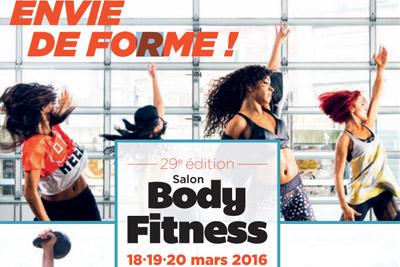 Gagnez des invitations pour le salon body fitness 2016 - Salon body body paris ...