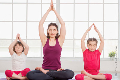sport gratuit yoga parent enfant