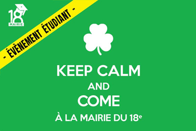 soiree gratuite keep calm and come