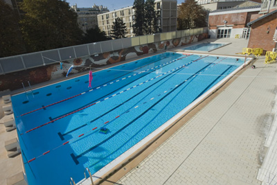 Piscine ext rieure chauff e paris for Buttes aux cailles piscine