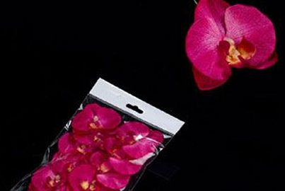 pince orchidee rose