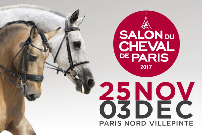 Gagnez des invitations pour le salon du cheval 2017 for Salon du chien 2017 paris