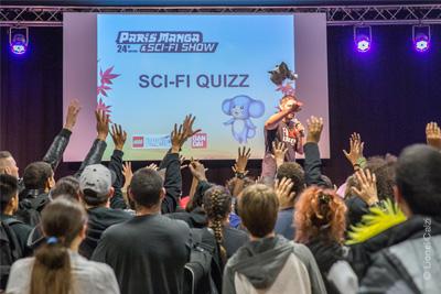 Gagnez des invitations pour le salon paris manga sci fi for Salon manga paris