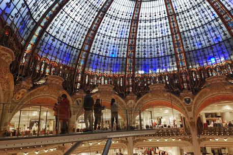 escénico Galeries Lafayette bajo Mirador la cúpula de LSMqVpGUz