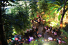 restaurant romantique paris avec jardin