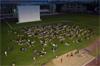 film gratuit ecran geant plein air courbevoie