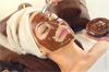 soin visage chocolat