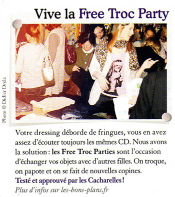 presse free troc party cacharel