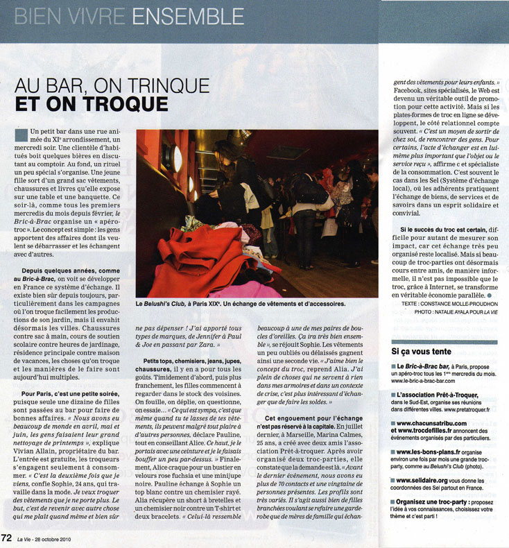presse free troc party la vie