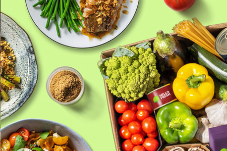 Box repas gratuite HelloFresh