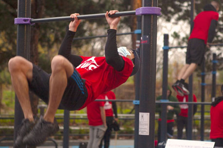 Sport gratuit au plus grand espace de Street Workout de France